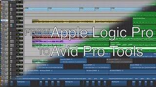 Переход из Apple Logic Pro в Avid Pro Tools. Как создать новую сессию для записи вокала? (RU)