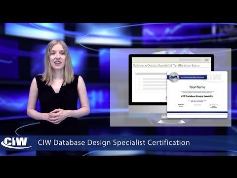 CIW Database Design Specialist - The CIW Web Development ...