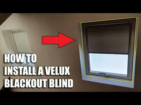 Download How To Install a VELUX Blackout Blind! Mp4 HD Video and MP3