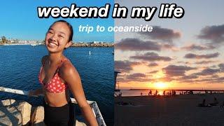 weekend in my life | trip to oceanside! Nicole Laeno