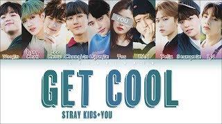 Gambar cover Stray Kids – 「Get Cool」 [10 Members ver.] (Color Coded Lyrics Han|Rom|Eng)