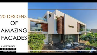 20 Modern House Facades | Part - 2 | Architectural Inspirations