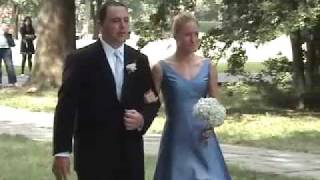 Letness Bricker Wedding Ceremony Processional