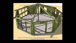 Topsider Homes Prefab Patio Home Animated House Assembly