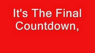 Europe   The Final Countdown   Lyrics
