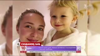 Наречена Володимира Кличка показала доньку під час американьского шоу