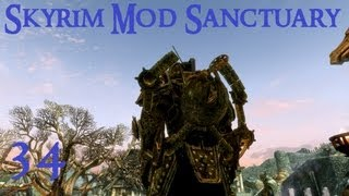 Skyrim Mod Sanctuary 34 - Dwemer Exoskeleton, Goggles, Scouter, Rifle, Autoblade, Condenser