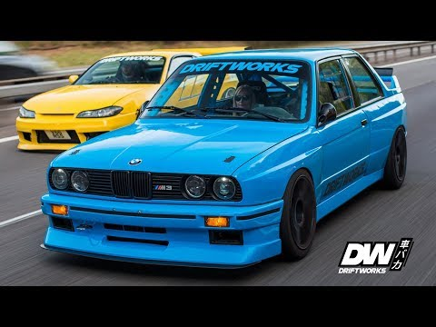Driftworks E30 M3 Part 13 - Dyno & Road Test