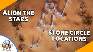 Assassin's Creed Origins - Bayek's Promise - Align the Stars STONE CIRCLE Locations (Stargazer)