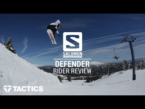 Salomon Defender 2017 Snowboard Binding Rider Review – Tactics.com
