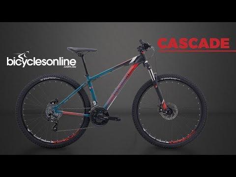 39e13c3f24a Polygon Cascade 4.0 Mountain Bike Shimano Altus 24 Speed W/ Tektro ...