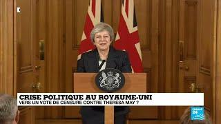 REPLAY - La Première Ministre britannique Theresa May s
