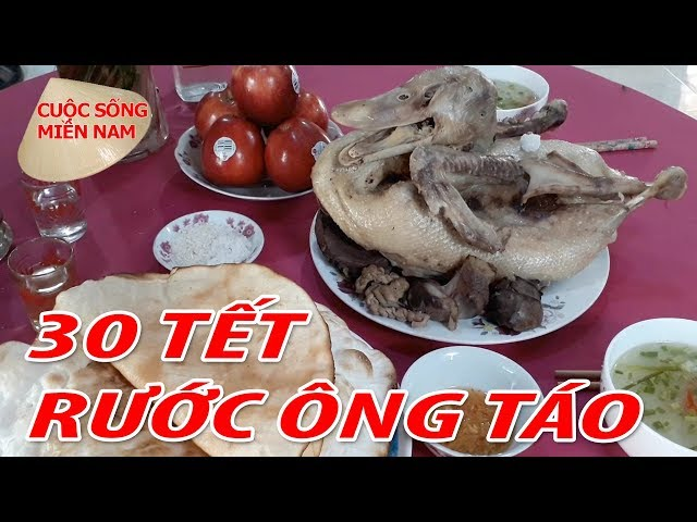 RƯỚC ÔNG TÁO Về Nhà ngày 30 tết Nguyên Đán 2018 | Nam Việt 576 – Du Lịch Miền Tây