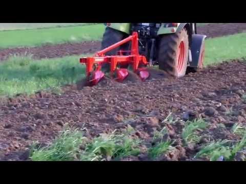 Bestagro Euro-Masz Anbaubeetpflüg 4 Schare Steinsicherung