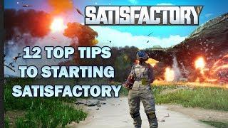 12 Top tips for efficient starts in Satisfactory