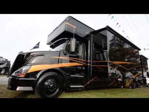 Extreme RV 45 Foot Super C Garage Unit & Renegade Trailer - игровое
