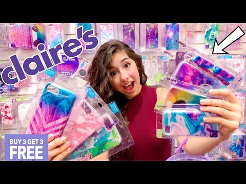 iPhone Case Shopping at Claire's! + HUGE Giveaway