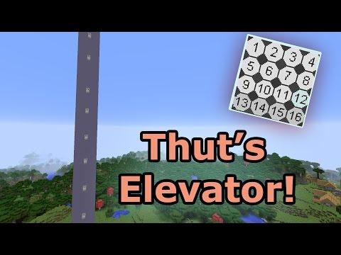 Thut's Elevator Mod! - Minecraft PC