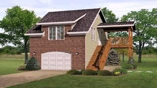 2 Bedroom Garage Apartment House Plans - Gif Maker  DaddyGif.com (see Description)