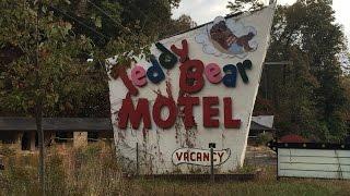 Abandoned Teddy Bear Motel