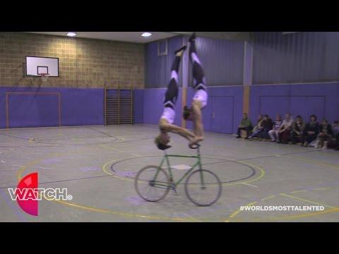 מופע בלט האופניים הייחודי שטרם ראיתם כמותו