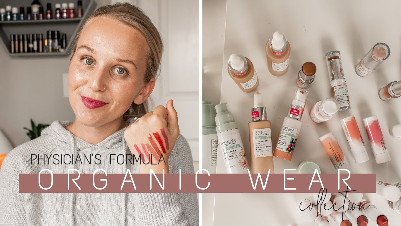 physician's formula organic wear full review and tutorial