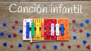 APRENDE canciones con xilófono | CÓMO TOCAR Frere jacques instrumental