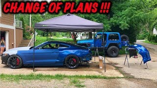 Rebuilding A Wrecked 2017 Mustang GT Part 13