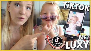 TiKTOK FiLMPJES MAKEN MET LUXY ? | Bellinga Vlog #1782