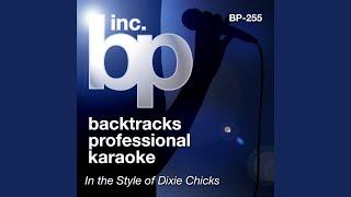 Heart Break Town (Heartbreak Town) (Karaoke Instrumental Track) (In the Style of Dixie Chicks)