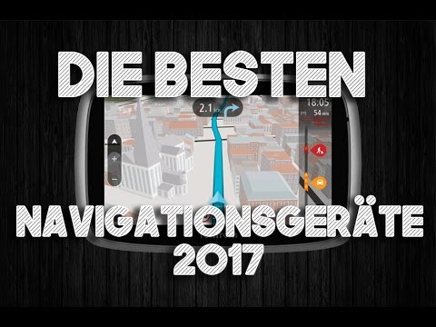 ⭐️Die besten Navigationsgeräte 2017 | TOP 5 Navi Vergleich ► Erfahrungen⭐️