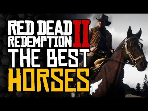 Complete HORSE Guide - The BEST Horses and How To Get Them - Red Dead Redemption 2