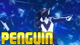 Masked Singer Penguin performance   All About that Bass   Season 2 Episode 5