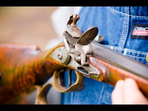 Flintlock Rifle Gunsmith & Engraver Mark Thomas (Part 1)