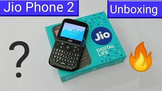 Jio Phone 2 (512MB/4GB) Unboxing & Overview In Hindi