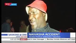 Accident: Two sets of accident in Nakuru County, seven people seriously injured