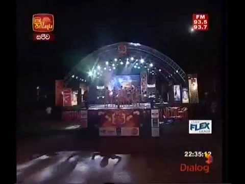 FLASHBACK  ITN 35th Anniversary concert with Flash Back @ Galle Face Hindi Song (видео)