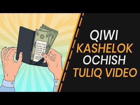 QIWI KASHELOK OCHISH TULIQ VIDEO
