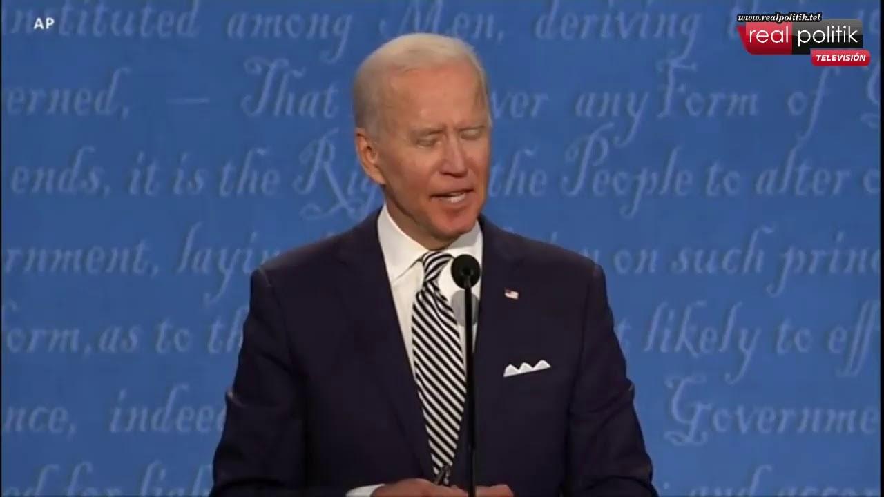 Reviví el primer debate presidencial en Estados Unidos entre Donald Trump y Joseph Biden