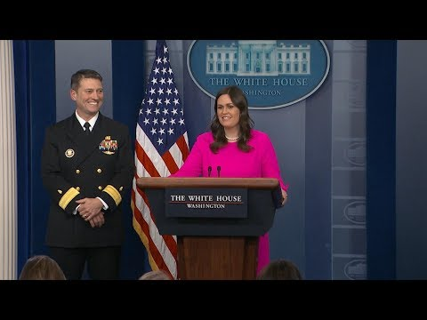 White House press briefing on President Donald Trump's physical | ABC News