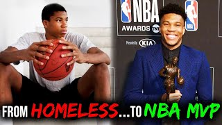 From HOMELESS to NBA MVP?! The UNBELIEVABLE Story of Giannis