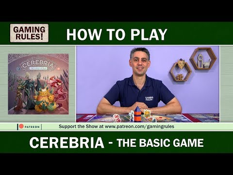 Cerebria - Official How to Play video from Gaming Rules!