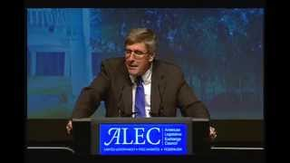 Stephen Moore 2014 ALEC Annual Meeting