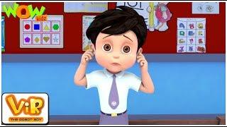 Vir ki Punishment - Vir : The Robot Boy- Kid's animation cartoon series