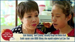 NMAVVN | Việt Hương, Tiết Cương, Hoàng Mập rơi nước mắt trước quán cơm 1000 Đồng tại Cần Thơ