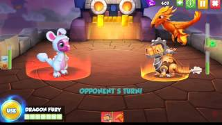 Beating Heroic Campaign - Dragon Mania Legends
