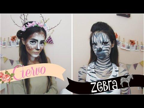 Disfraz para Halloween de: Ciervo y Zebra | Parte 3 | Celhelíz
