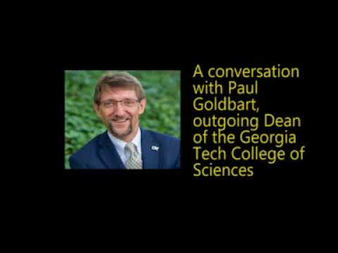 Click on image for audio: A Conversation with College of Sciences Dean Paul Goldbart