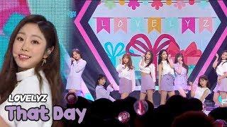 [HOT] LOVELYZ - That Day, 러블리즈 - 그날의 너 Show Music core 20180519