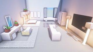 Minecraft: Modern Bedroom Build Tutorial